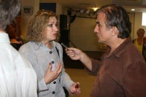 Любаша на 18-ом Всероссийском Фестивале Визуальных искусств с Рамазаном Рамазановым