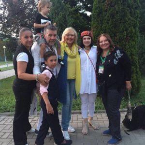 Любаша - почетный гость 21-го Всеросийского фестиваля визуальных искусств