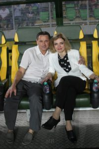 С Дмитрием Аленичевым на Матче легенд в Дагестане