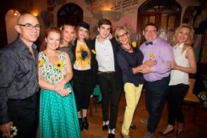 День рождения Татьяны Залужной Любаши в Центральном Доме литераторов