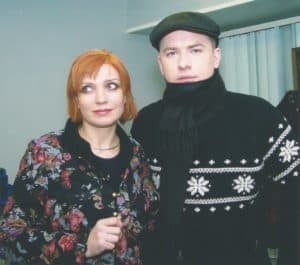 С Андреем Данилко на Песне года