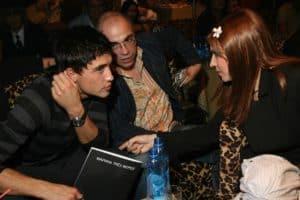 С Димой Биланом на презентации