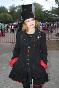 На концерте в парке Кузьминки