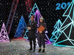 "С Г.Лепсом на Песне года 2018 ""Два Колумба"""