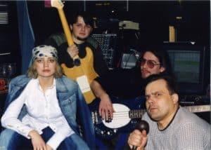 Группа Любаша на студии