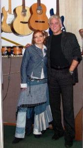 С А.Маршаром на записи дуэта - Это осень - 2005