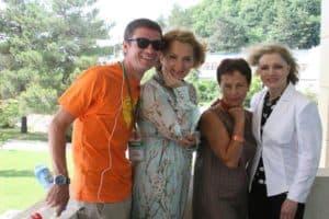 С Марией Порошиной и Ильей Древновым на 18-ом Всероссийском Фестивале Визуальных искусств