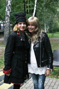 С Еленой Пресняковой на концерте