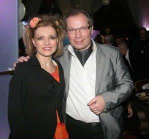 С Юрием Розумом на презентации своей детской книги