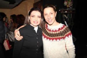 С Юлией Рутберг после сольного концерта в Альма-матер 2013г.