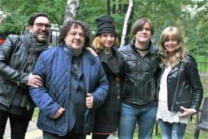 С Сарухановым, Трубачом, Пресняковой на сборном концерте
