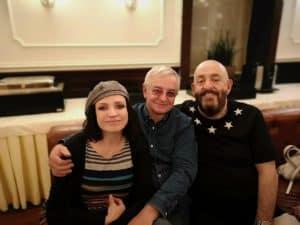 С Михаилом Шуфутинским и Александром Ковалевым на гастролях в Хабаровске