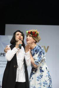 С Оксаной Сташенко на ШАПО-2017. Фото Юрия Феклистова