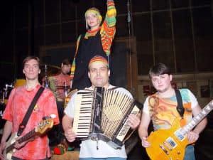 На съемках клипа - Затянусь и брошу - 2002