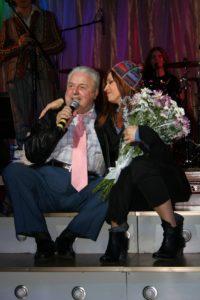 С Михаилом Таничем - Концерт и презентация проектов Любаши 2007г.