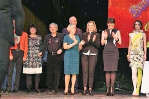 Любаша получила премию Звездный мост - за альбом детских песен