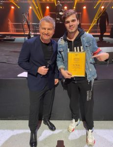Глеб Мелентьев - 2е место в конкурсе